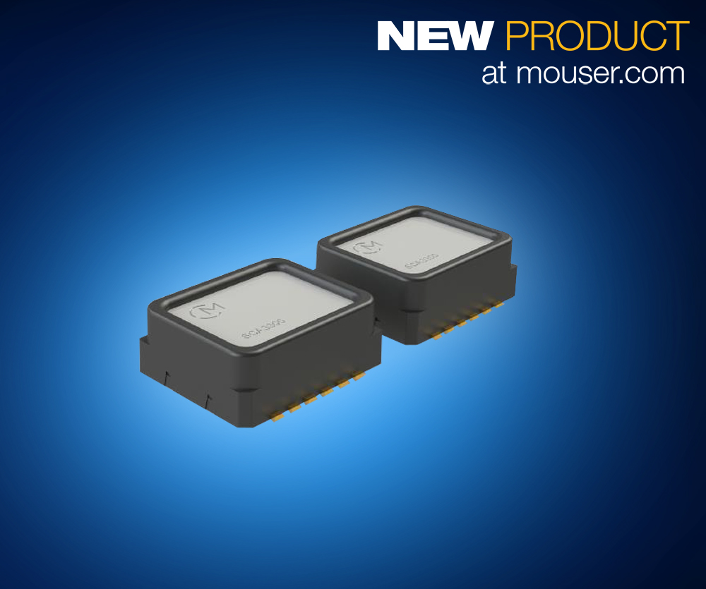MEMS Accelerometer and Inclinometer Delivers Exceptional Stability, Reliability and Low Noise